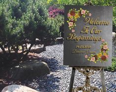 """Printable Wedding Sign, Wedding """"Welcome sign Personalized Large Wedding Sign, Chalkboard Engagement Party Sign by DigitalPrintStore on Etsy Engagement Party Signs, Engagement Gifts, Wedding Welcome Signs, Wedding Signs, Religious Wedding, Retro Art, Personalized Wedding, Chalkboard, Bridal Shower"""