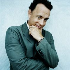 Tom Hanks..... Don't forget to check out his new film.. One of my favorite actors...