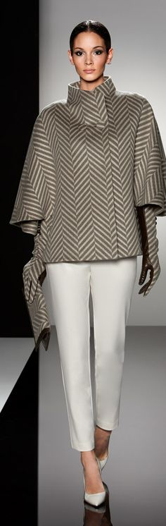 """Find out where Glamour Goddess wore this herring bone Cinzia Rocca coat. Read """"BOB"""" at: ndnyurlife.com"""