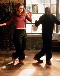 "Step Up 2 Dance ... this is a great motivational movie ""Save the Last Dance"" (2001)   She's a white ballerina, devastated by the death of her mother and an   unsuccessful Juilliard tryout. He's a black scholar from the 'hood, on his way   to medical school via Georgetown University. This film is a classic ""from   different worlds"" tale ... more"