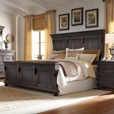 Accentrics Kentshire Mansion Panel Bed