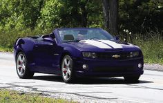 Purrple convertible Camaro :D