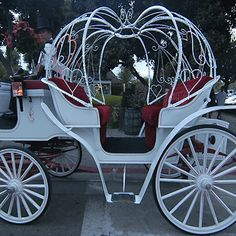 I saw this in StL when I was a little girl and always said I would ride away in it after my dream wedding