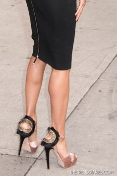 Shoes: Brian Atwood 'Vanity' Sandals