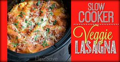 Did you know you can make lasagna in your slow cooker and it comes out fabulous!? This recipe will deliver a meal with tons of flavor, simple ingredients, and fresh hearty veggies.