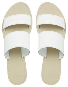 Image 3 of ASOS FEDERAL Leather Flat Sandals