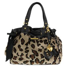 Juicy Couture Daydreamer Yhru2723 Leopard Bag ($298) found on Polyvore