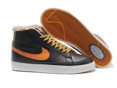 ナイキ Nike ブレザーハイ ウィンター コーヒー イエロ Nike0437