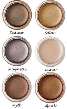 luscious cream eye shadows by RMS beauty (eco cosmetics!) Suited for 50 years and above