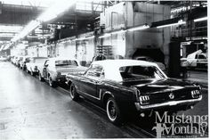 Mustang Assembly Line - Pony Tales April 2014