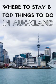 We took the plunge and went down under on the trip of our lifetime! First stop - where to stay and top things to do in Auckland!