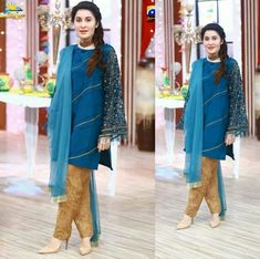 Makeup And Beauty Blog, Pakistani Dresses, Kurtis, Duster Coat, Fashion Dresses, Trends, Traditional, Formal Dresses, How To Wear