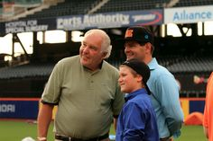 Our CEO, Eugene, and his son with the legendary Ed Kranepool of the '69 Mets!