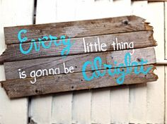 Reclaimed Beach Drift Wood Home Sign-Every by OceanStateofMindRI