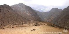 Panorama del sitio arqueológico de Checta