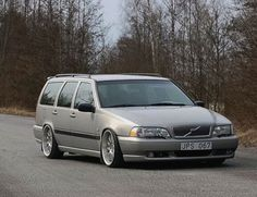 Good look'n lowered V70