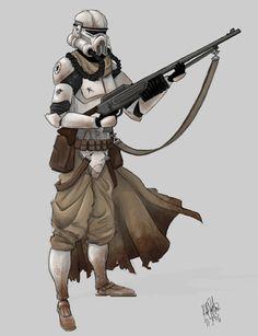Pre-Sandtrooper?