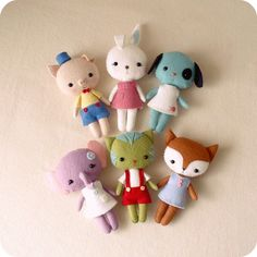 Pocket Pets pdf Pattern  You Choose Two by Gingermelon on Etsy, $15.00