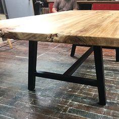 La louche 3/8 acier Table jambe 1 seule jambe | Etsy