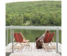 collioure acryl 43 cm outdoor stoif van kleurmeester.nl #kleur #stof #doehetzelf #strandstoel #relaxing
