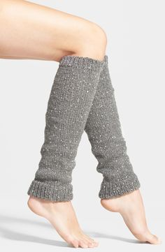 Yes, to sequin leg warmers this season!