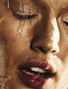 Toni Garrn by Ben Hassett for W Magazine June/July 2013.
