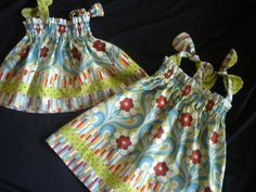 Infant Toddler Girls Designer Fabric Triple by BeeBeesBoutique, $29.00
