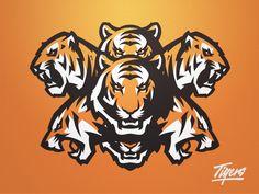 Ideas Sport Logo Tiger For 2019 Tiger Illustration, Logo Design, Mascot Design, Graphic Design, Team Logo, Sport Logos, Tiger Images, Dc Comics, Tiger Art
