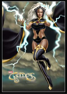 """The Storm is """"OYA""""! Legend in; """"The GODDESS / Psychology of Female Power"""","""