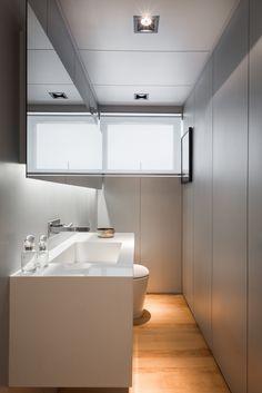 Projeto Alonso Mármores - PM arquitetura Dez/2014 - Lavabo em Emporio Stone Super White #PiaLavabo #BancadaLavabo #BalcaoLavabo #EmporioStone Super White