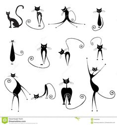 Halloween Cats Royalty Free Stock Image - Image: 34693536