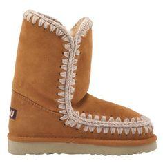 Mou Eskimo Short Boots Women Cuoio - MOU #mou #eskimo #boots #women #fashion