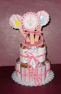 Lisa's Paper Addiction: Hershey Miniatures Birthday Cake