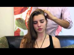 (22) Binaural ASMR Hair Brushing and Scalp Message - YouTube
