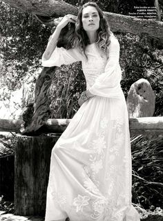 Erin Wasson By Pamela Hanson for Elle France June 2015 I Editorials and Campaigns Boho Summer Dresses, White Dress Summer, Boho Dress, Erin Wasson, Pamela Hanson, Boho Fashion, Fashion Dresses, The Lone Ranger, 21st Dresses