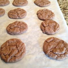 "Nutella®️️ Hazelnut Cookies | ""This is a great cookie! Soft, chewy, and most importantly chocolate-hazelnutty!"" #recipe #cookie #baking"