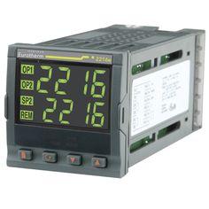 Controlador 2216E - Controladores de Temperatura o Procesos Versátiles y Estables - Ajuste Automático con Inhibición de Sobreimpulsos - Salidas de Calentamiento y Enfriamiento - Hardware Modular - Display Totalmente Personalizable - Comunicaciones Digitales.