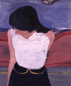 RICHARD DIEBENKORN / Girl in White Blouse, 1962