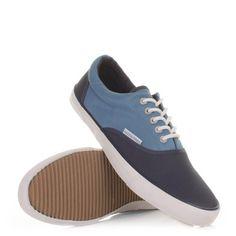 #Jack_and_Jones Kos Low #Trainers - Dress Blue. £26