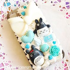 Custom Decoden for Totoro phone case for iPhone 4/4s, 5, samsung galaxy - Ready To Ship