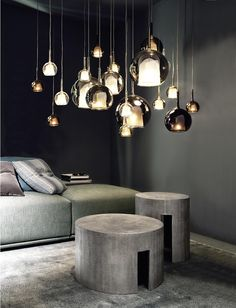 """Glo is one of the iconic lamps of Penta, designed by Carlo Colombo. This collection, available as table, floor and pendant lamps, gives a strong scenic impact to the different interior design solutions. Available in different colours: transparent, gold, silver, pink gold, black, iridescent and in the new proposal """"4ever"""" and """"total white"""". The design …"""
