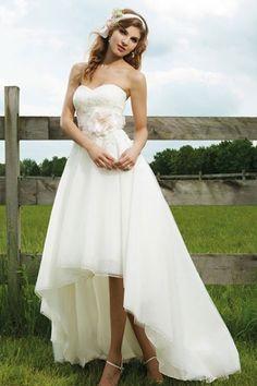 Designer Ball Gown Sweep/Brush Train Strapless Sleeveless Zipper Chiffon UK Wedding Dresses