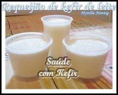 Saude com Kefir: Requeijão de kefir de leite