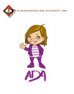 personaje del libro infantil ADA y ZAX: una historia muy terrestre