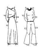 ✄ Victoria clothes