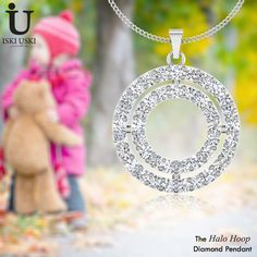 Shop Diamond Pendant Online.!! Check out our latest collection for best prices.!! Everyone deserves to feel special.!! Visit Now: www.iskiuski.com/jewellery/pendants.html