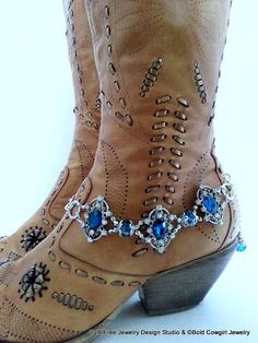 (((BOLD COWGIRL))) BOOT JEWELRY (BOOT BLING) ~ Dont just get noticed... Be Remembered! Add some BLING to your boots!!!    Cowgirl chic boot jewelry