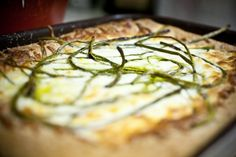garlic scapes--tart