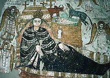 Sudan - Fresco of Faras Cathedral, 10th–11th century