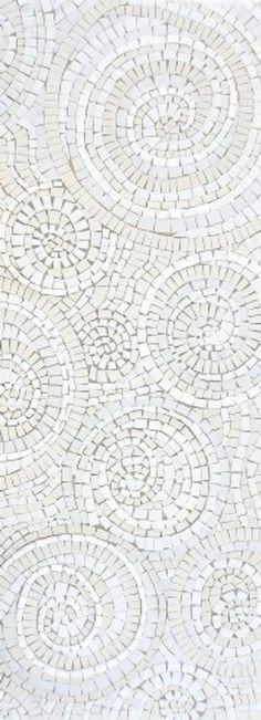 #Mosaic #white ❖Blanc❖ Sue Kershaw Mosaics